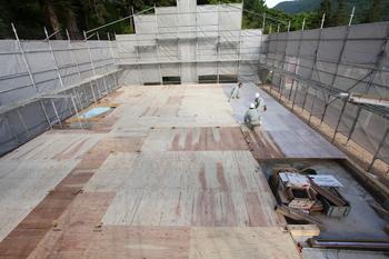 内山 高橋邸 基礎土台